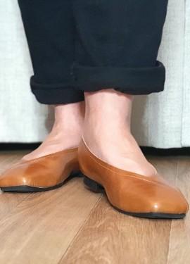 Отличные кожаные туфли на каждый день: распаковка и примерка.
