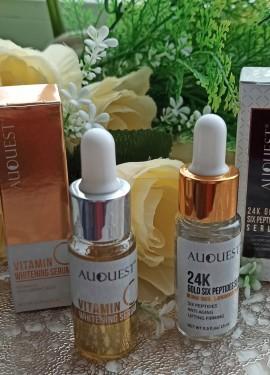 Комплексный уход за кожей лица от AuQuest. Увлажнение  отбеливание.