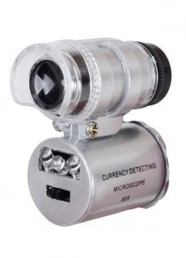 Карманный микроскоп 5х2,5х7см, 60-кратное увеличение