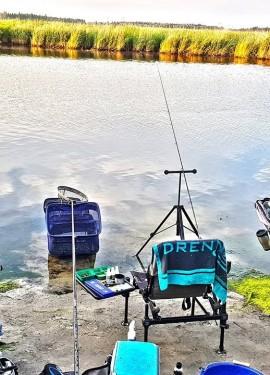 Фидер. Собери бюджетную рыболовную снасть и лови трофеи