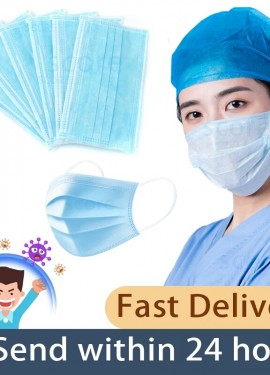 Coronavirus COVID-19 Fast delivery Hot Sale Surgical mask 50pcs tapabocas