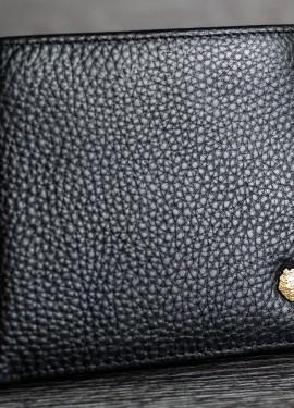 Мужское портмоне из натуральной кожи LAORENTOU