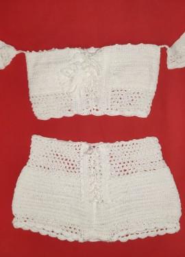 Knitting/ Crochet Swimsuit - Bikini Set