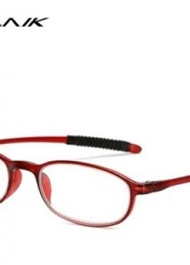 Reading Glasses Men Women Ultralight Toughness Anti Fatigue TR90 Frame.