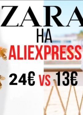 Zara vs Aliexpress ,лето