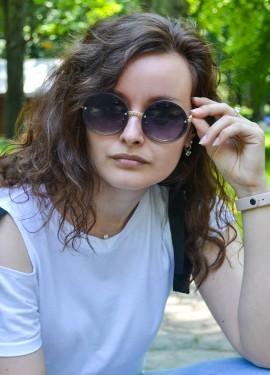 Солнечные очки с круглыми линзами