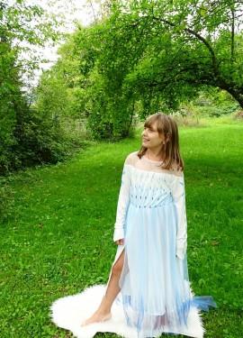 Очень красивое и нарядное платье.