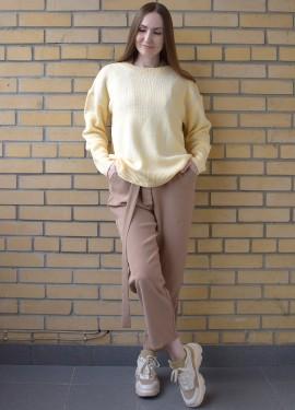 Желтый, как солнышко - свитер с AliExpress