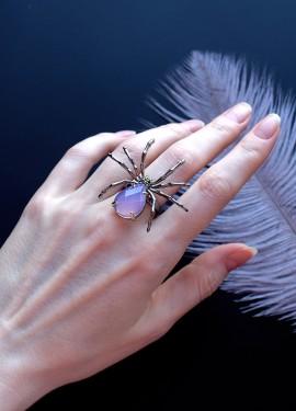 Кольцо паук с AliExpress