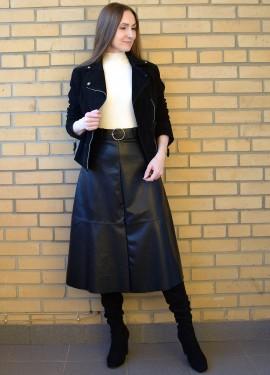 Кожаная юбка с AliExpress