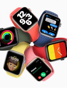Мои первые Apple watch или Apple watch SE из М Видео.
