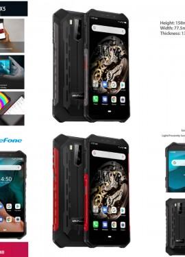 Защищенный смартфон Ulefone.