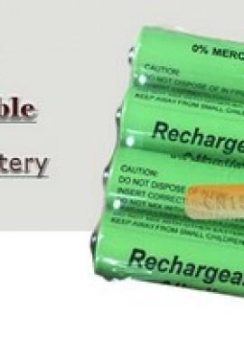 Battery 2100mah 1.5V Alkaline AAA rechargeable.