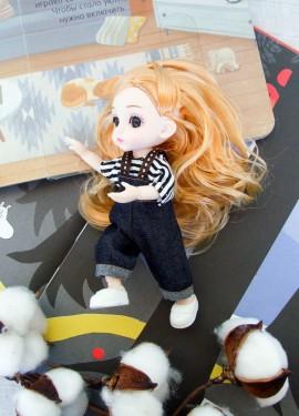 Еще одна шарнирная куколка с Алиэкспресс