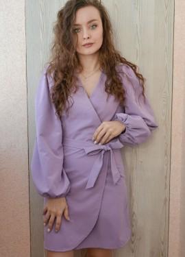 Платье с пышными рукавами OOTN