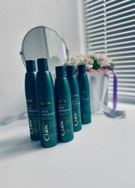 Шампунь и бальзам ESTEL / Curex THERAPY, Шампунь VITA-ТЕРАПИЯ для повреждённых волос.