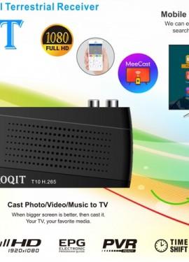 Koqit T10 H.265 HEVC 10Bit DVB-T2 DVB-C IPTV