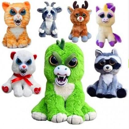 Не обижай Животных! Отвечающие людям игрушки FEISTY PETS с AliExpress