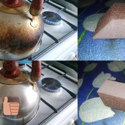 Очищающая губка для посуды