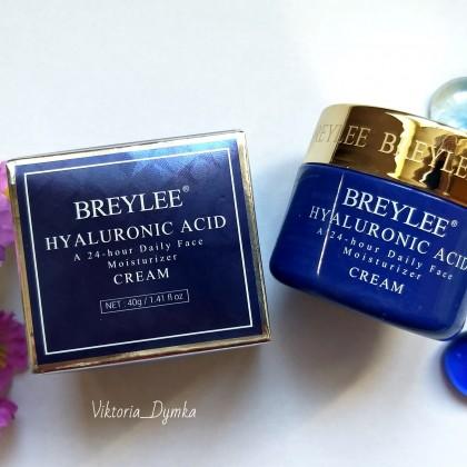 Крем для лица BREYLEE Cream Hyaluronic Acid: подарит коже увлажнение, мягкость и бархатистость.