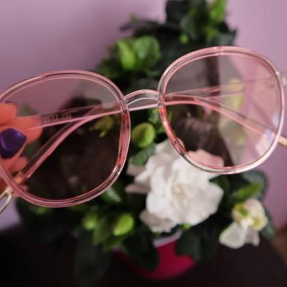 Пудровые очки на весну-лето