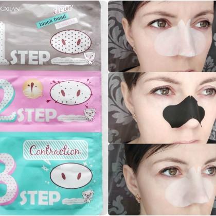 Трехфазная маска от черных точек и угрей от бренда Sumifun