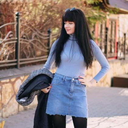 Джинсовая юбка Colorfaith