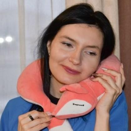 Подушка или игрушка? Лиса на шее помогает уснуть: от DECOR_FOR_HOME