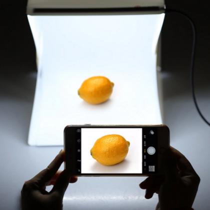 Фотобокс с LED подсветкой. Мини-фотостудия.