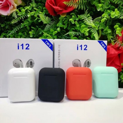 i12 TWS original Bluetooth 5,0 наушники AirPods