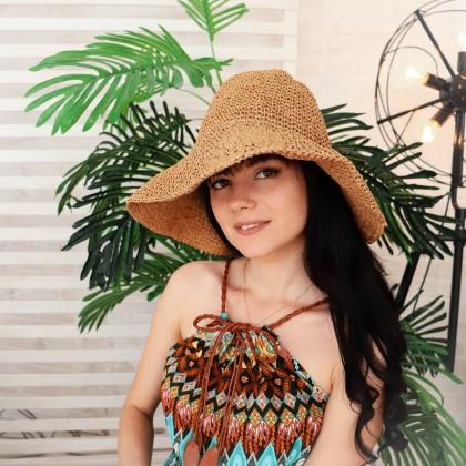 Соломенная шляпка CZHCQQ