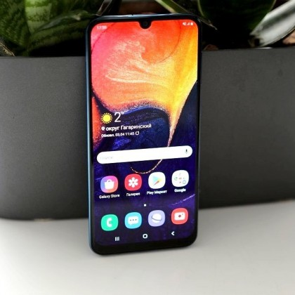 Galaxy A50. Смартфон, который смог!