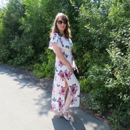 Красивое летнее платье по привлекательной цене от бренда Ahagaga