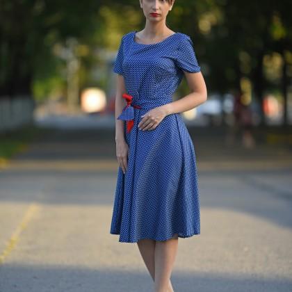 Лёгкое платье в горошек от fashionaccessoriesclub