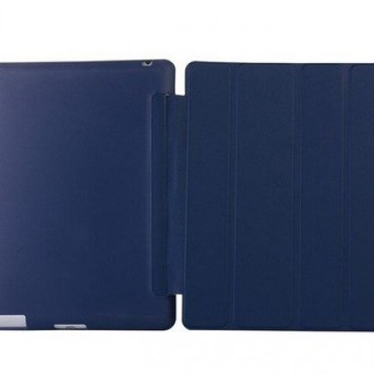 Case Cover for iPad 2, Smart Slim Magnetic TPU Leather
