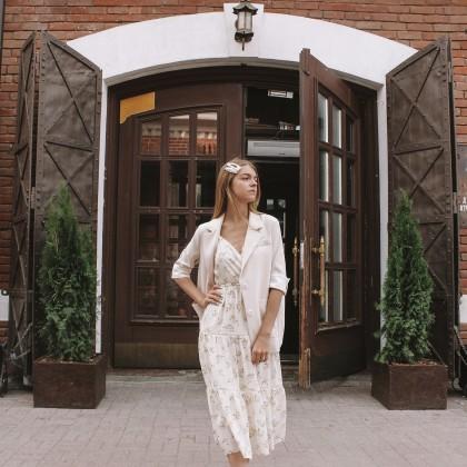 Нежное летнее платье с Алиэкспресс
