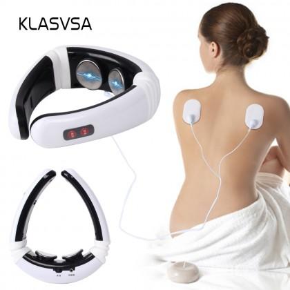 KLASVSA Электродный физиотерапевтический массажер  для шеи и спины.