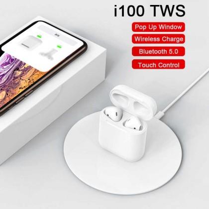 i100 tws ORIGINAL PK W1 чип 1:1 размер Bluetooth 5,0