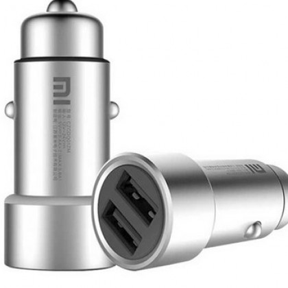 Original Xiaomi Mi Car Charger Dual USB fast car charger.