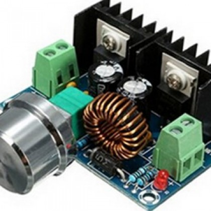 DC CC 9A 300W Step Down Converter based on XL4016 5-40V To 1.2-35V 4V-40V to 1.25V-36V.