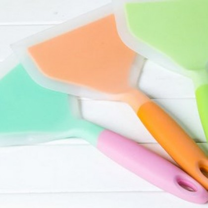 Silicone Kitchen spatula cooking tools for meats
