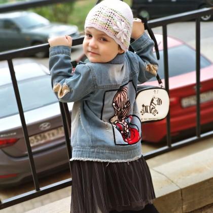 Лучшая из покупок одежды на Али - обалденная детская джинсовка по смешной цене.