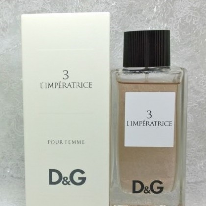 Еще одна моя маленькая слабость -  Dolce  Gabbana 3 Limperatrice