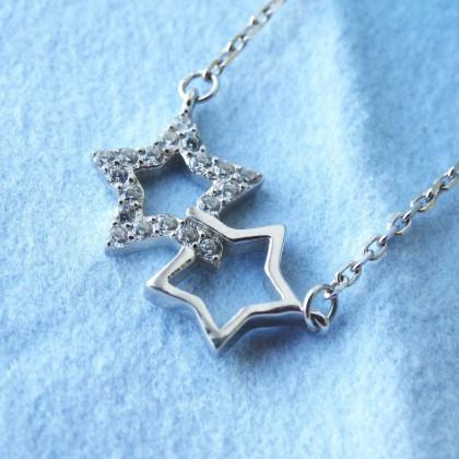 Серебряные звёздочки SA SILVERAGE с Aliexpress