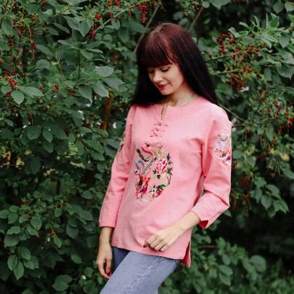 Блуза в китайском стиле F JE