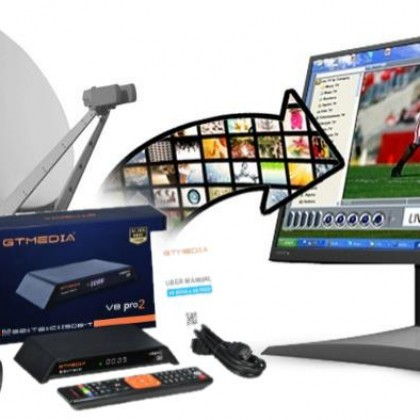 GT Media V8 Pro2 DVB-S2T2C спутниковый ресивер