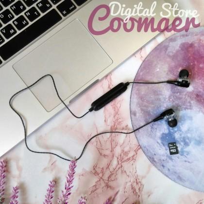 Беспроводные наушники с разъёмом для microSD от бренда COOMAER.