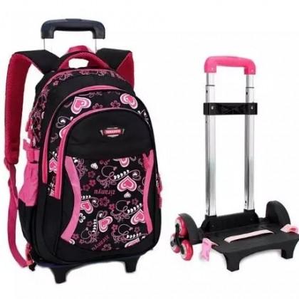 Школьный рюкзак на колесах с Алиэкспресс
