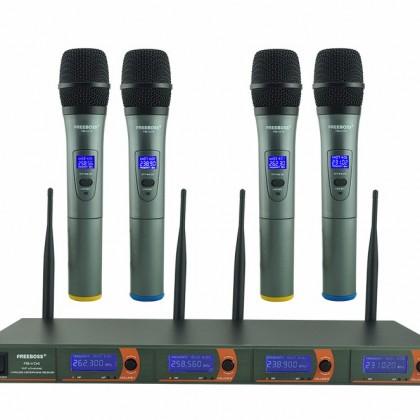 Беспроводная система микрофонов UHF профессиональная