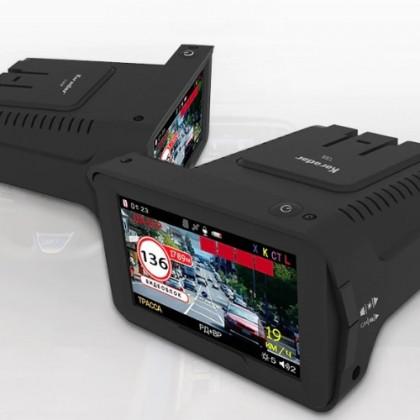 Радар-детектор 3 в 1. Автомобильный видеорегистратор, gps, радар-детектор.